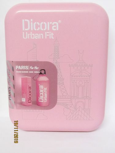 DICORA URBAN FIT SET PARIS GIFT SET (PERFUME 100 ML + SPORTS BOTTLE)