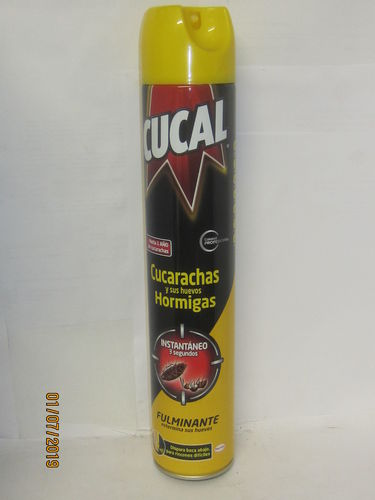 CUCAL INSECTICIDA FORMATO SPRAY 750 ML