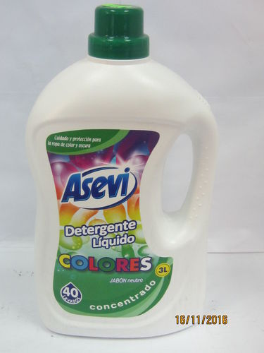 ASEVI COLORS | DETERGENT | CONCENTRATED LIQUID