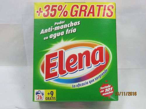 ELENA | DETERGENT | POWDER 35 washes