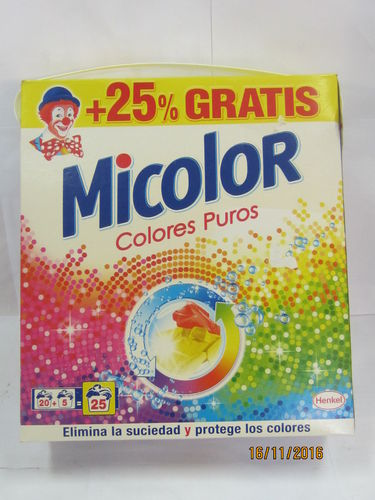 MICOLOR | DETERGENT | POWDERED