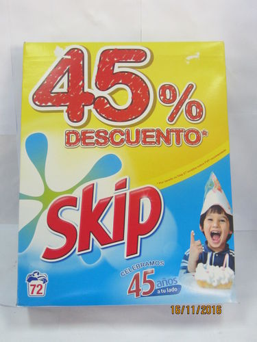 SKIP | DETERGENT | POWDERED 60 DOSES