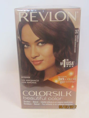 REVLON COLORSILKNº37 COLOR CHOCOLATE TINTE SIN AMONIACO