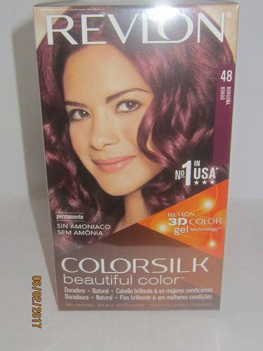 REVLON COLORSILK Nº48 COLOR BORGOÑA TINTE SIN AMONIACO