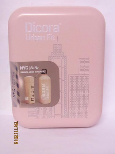 DICORA URBAN FIT SET CAN GIFT NYC (PERFUME 100ML + SPORTS BOTTLE)