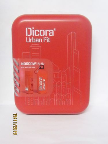 DICORA URBAN FIT SET MOSCOW GIFT SET (PERFUME 100 ML + SPORTS BOTTLE)