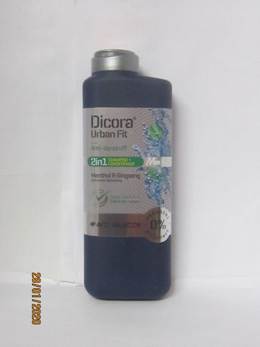 DICORA URBAN FIT CHAMPU MEN 2 IN 1 ANTICASPA