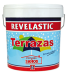 REVELASTIC TERRAZAS red rubber coating