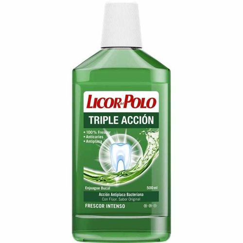 LICOR DEL POLO MOUTH RINSE TRIPLE ACTION