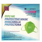 PROTECTIVE MASK FFP2 COLOR GREEN